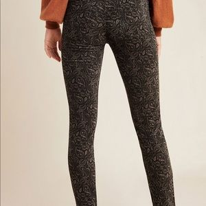 AG The Stevie Velvet High-Rise Skinny Jeans